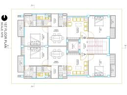 1024x768 i will create your building 2d floor plan in autocad fiverr gig