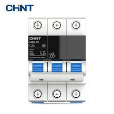 <b>CHINT Miniature Circuit Breaker</b> Overload Protection TaiChi NB6 63 ...