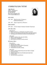 How To Prepare A Job Resume 24 How To Prepare A Resume For Teacher Job Emmalbell 24