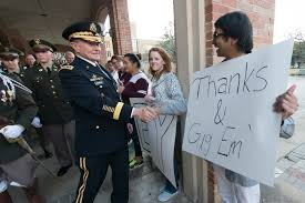 u s department of defense photo essay martin e dempsey chairman of the joint chiefs of staff shakes hands texas a m university alumni in college station texas feb 18 2015