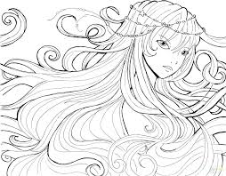 Anime Coloring Pages Girl Coloring Pages Of Girls Plus Extraordinary