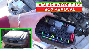 how to remove and replace the engine fuse box on jaguar x type x How To Replace A Fuse Box In A Car how to remove and replace the engine fuse box on jaguar x type x type how to replace a fuse box in a 1969 mustang