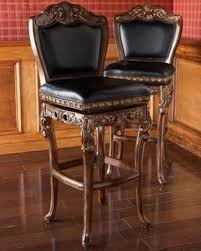 Leather bar stools luxury seating which gets better with ages