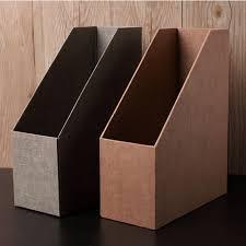 storage s simple single joint paper data base shelf 4 column desktop file box office finishing