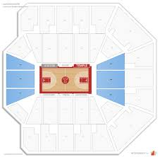 Temple Liacouras Center Seating Chart Liacouras Center Temple Seating Guide Rateyourseats Com