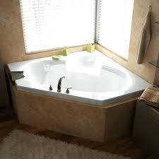 jacuzzi bath cleaner jet bathtub cleaner x corner air jetted with center drain whirlpool bath cleaning
