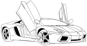 Small Picture Printable Car Coloring Pages Car Coloring Pages For Kids Super