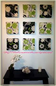 diy canvas wall art charming diy wall arts floral decoration ideas with square framed green and black floral patterned fabrics inspiring decorative diy wall  on fabric over canvas wall art with diy wall decor ideas diy canvas wall art charming diy wall arts