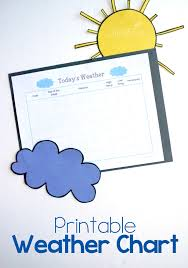 Weather Chart Free Printable Weather Chart Life Over Cs