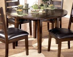 round dining table for 6 with leaf outstanding dining room tables round with leaf with regard