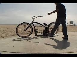 custom beach cruiser bicycle air ride lowrider bike youtube