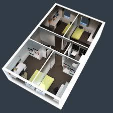 Modern 2 Bedroom House Plans Charming 2 Bedroom House Plan 8 Sims 3 Modern House Stargardenws