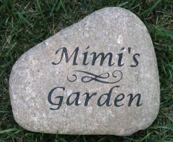 image of personalized garden décor