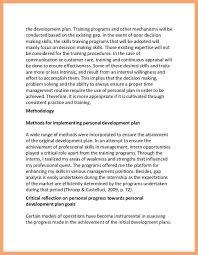 professional development plan sample good resume examples professional development plan sample personal and professional development