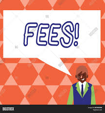 Poster Design Charges Handwriting Text Fees Image Photo Free Trial Bigstock