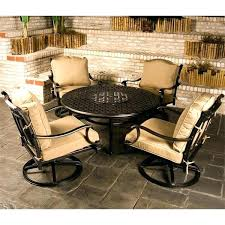outdoor furniture with fire pits fire pit table set cau outdoor patio furniture fire pit set