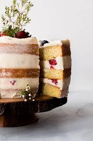 Vanilla Naked Cake Sallys Baking Addiction