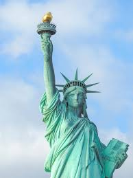 visiting the statue of liberty new york city seen up close from the