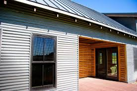 corrugated aluminum siding metal design outdoor