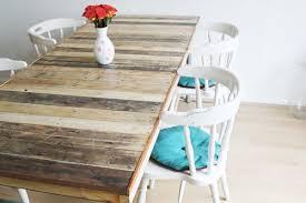 effective diy pallet dining tables