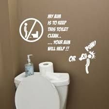 toilet bathroom funny wall quote stickers wall decals bathroom decorations amazon uk kitchen home on toilet wall art quotes with toilet bathroom funny wall quote stickers wall decals bathroom