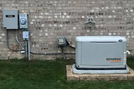 house generator. Perfect Generator Generac 11KW With A 100amp Transfer Switch Intended House Generator