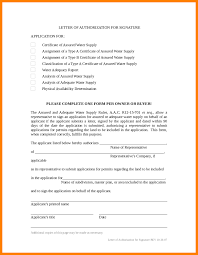 8 Certificate Of Authorization Template Weekly Template