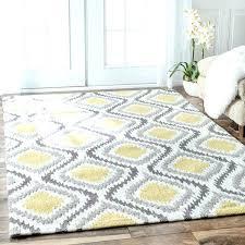 grey and yellow area rug gray target tar