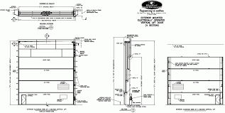 garage door widths garage door  Experience Commercial Garage Door Sizes