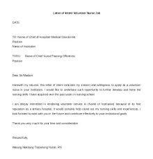 Volunteer Letter Samples Volunteer Letter Template