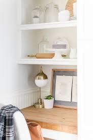 stunning natural brown wooden diy corner desk. Diy Floating Desk With Storage Tutorial Burst Beautiful Desks Grey Ladder Shelf Ikea Shoe Rack Shelves Stunning Natural Brown Wooden Corner