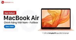 MacBook Air 2017 - Chính Hãng VN/A – Minh Hoàng Mobile