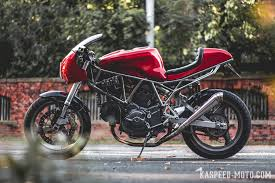 ducati 750 ss modern cafe racer build