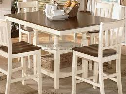 ashley whitesburg dining set. gatherings and meals of all sizes become possible with the square counter extension ashley d583 whitesburg dining set 0