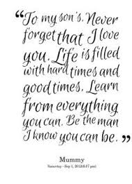 My Beautiful Son Quotes Best of Love Words For My Son Pansime