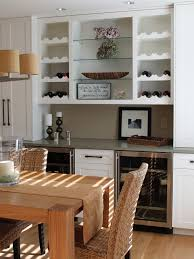 wine rack dining table. Wood Pallet Wine Rack Dining Room Transitional With Refigerator White Cabinets Storage Table
