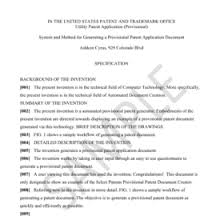 How To File A Provisional Patent Online In 3 Steps