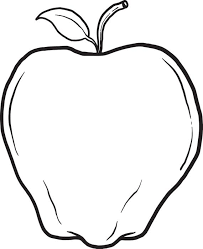 Small Picture Free Printable Apple Coloring Page for Kids