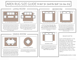 area rug size guide to help you select the right simpleminimalist dining room nice 5