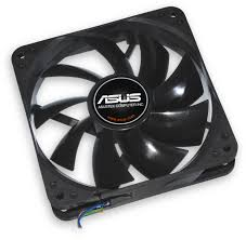 fan 120mm. asus 120mm case fan, black fan