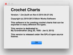 Crochet Charts Software Free Free Crochet Charts Software Clearlyhelena