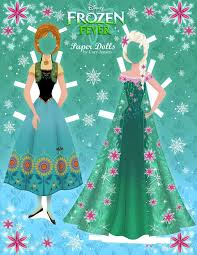 Small Picture Disneys Frozen Paper Dolls SKGaleana