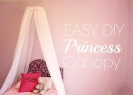 beautiful princess canopy bed. Easy DIY Princess Canopy Bed For Little Girls Beautiful T