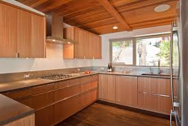 Trim For Cabinets White Kitchen Cabinets With Natural Wood Trim Quicuacom