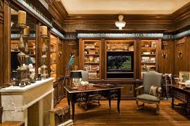 office wood paneling. Luxurious Home Office - Wood Paneling Paris France . Specializes In Antique As Well