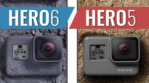 Gopro Hero 5 Comparison Chart Gopro Hero 6 Black Vs Hero 5 Black Action Camera Comparison