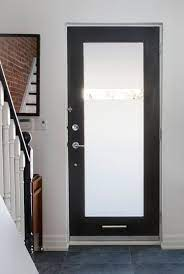 exterior doors with glass