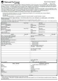 Printable Personal Financial Statement Template Asset And Liability ...