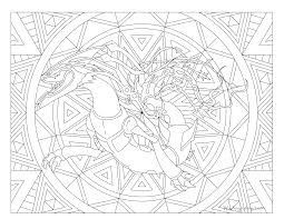 Small Picture 384 Mega Rayquaza Pokemon Coloring Page Windingpathsartcom