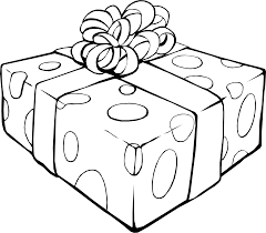 birthday present clip art black and white. Delighful Art Present At Getdrawings Com Drawing Presents Birthday Clip Art Black And  White Library Inside Birthday Clip Art Black And White A